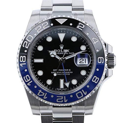 (ロレックス) ROLEX 腕時計 GMTマスターII 116710BLNR ブラック メンズ [並行輸入品]