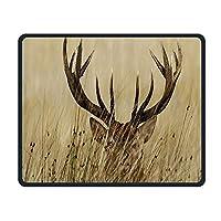マウスパッド、Whitetail Deer Fawn in Wildernessマウスパッド、FoldableMouseパッドマット