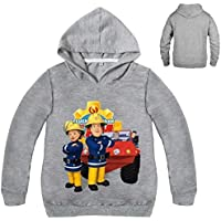 Color at Picture 14 12 2-12Y 2018 New Year Children Cartoon Fireman Sam Clothes Spring Outdoor Kids Outwear Long Sleeve Jumper Causal Jacekt Coat