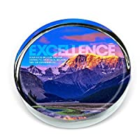 Successories - Excellence Mountain Positive Outlook Paperweight [並行輸入品]