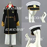 CXCOS eli0804 宇宙戦艦ヤマト 沖田十三 艦長 風 コスプレ衣装