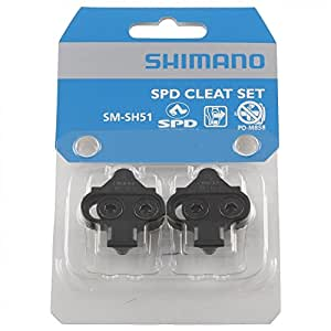 シマノ クリートセットシングルモード ペア  SM-SH51  [Y42498201]
