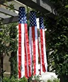 アメリカンフラッグ★ウィンドソック(星条旗)★USA Super Shiny 吹き流し型のぼり旗