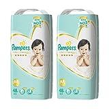 パンパース オムツ テープ はじめての肌へのいちばん M(6~11kg) 96枚 (48枚×2パック)