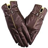 【防寒対策】Niksa 手袋 レディース 本革 羊皮 シープスキン 裏起毛 レディースファッション オリジナル 冬でも暖かい 精巧な化粧箱が付き