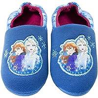 Vanilla Underground Disney Frozen 2 Anna & Elsa Nature is Magical Girls Novelty Character Slippers