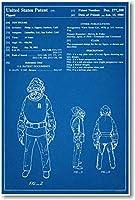 STAR WARS Admiral Akbar Patent–新しい有名な発明青写真ポスター