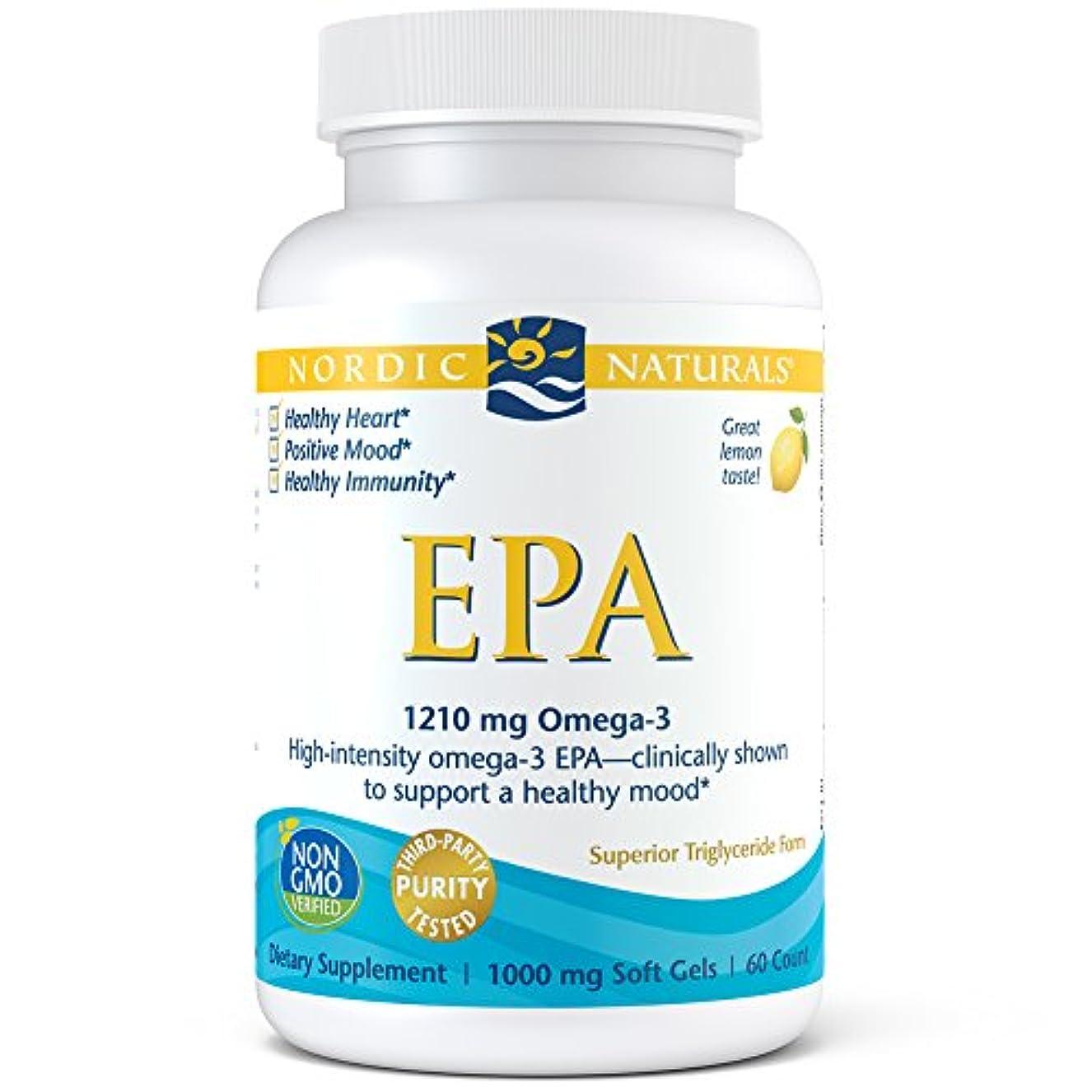 事実上木曜日手伝うNordic Naturals EPA 60 ソフト ゲル