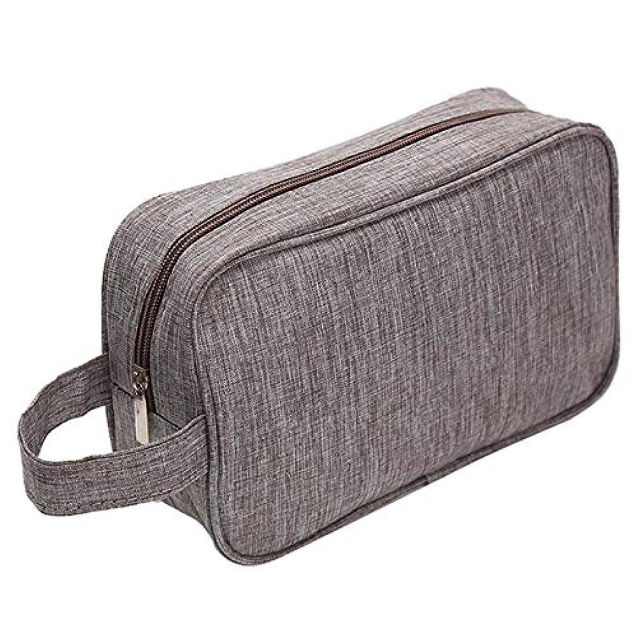 準備する蒸し器コンパクトTOOGOO コーヒー女性男性用、小さな防水化粧バッグ、旅行美容化粧品バッグ、オーガナイザーケース、メイクアップトイレタリーバッグ