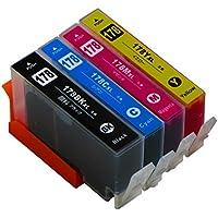 ヒューレットパッカード用 HP178XL 4色マルチパック ICチップ付 増量版 CR281AA 【互換インクカートリッジ】対応機種:Deskjet 3070A / 3520 / Officejet 4620 / Photosmart 5510 / 5520 / 5521 / 6510 / 6520 / 6521 / B109A / C5380 / C6380 / D5460 / Plus B209A / Plus B210a / Premium C309G / C310c / FAX All-in-One C309a / Wireless B109N / Wireless B110a【ヨコハマトナー】