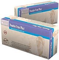 Dynarex 6613 Latex Powder-Free Gloves, Medium (Pack of 10) [並行輸入品]