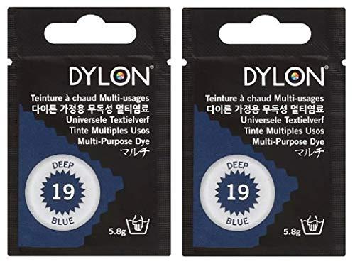 DYLON マルチ (衣類 繊維用染料) 5g col.19 ディープブルー