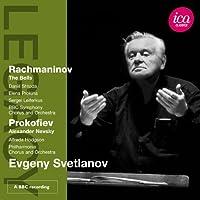 エフゲニー・スヴェトラーノフ指揮 ラフマニノフ:詩曲「鐘」/プロコフィエフ:カンタータ「アレクサンダー・ネフスキー」