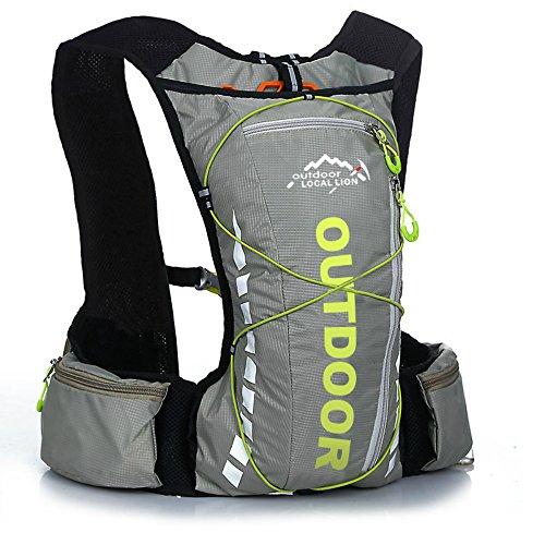 (アウトドアローカルライオン) OUTDOOR LOCAL LION  サイクリング 10L バックパック 超軽量 アウトドアスポーツバッグ ランニング マラソンバッグ 自転車バッグ ハイドレーションバッグ