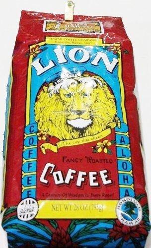 Lion Cofe Hawaii ライオン カフェ ハワイ ミディアム ダーク ロースト コーヒー 粉 793g×48パック