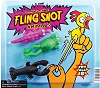 FLING Shot Animals Party Favor (6 count) [並行輸入品]