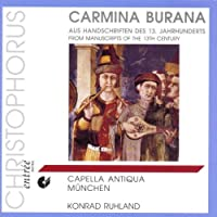 Carmina Burana from Manuscrips