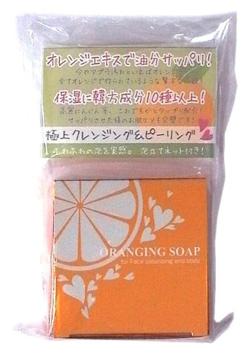 ソート検閲信頼性オレンジングソープ 120g