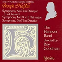 Haydn;Symphonies 73;74 & 75
