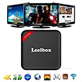 Leelbox Q1 Plus Android TV Box Amlogic S905X クアットコア cortex-A53 64ビット Android6.0 1GB DDR3 RAM 8GBemmc ストリーミングメディアプレーヤー