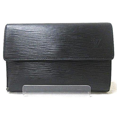 Louis Vuitton(ルイヴィトン) エピ M63712 3つ折り財布 黒 [中古]