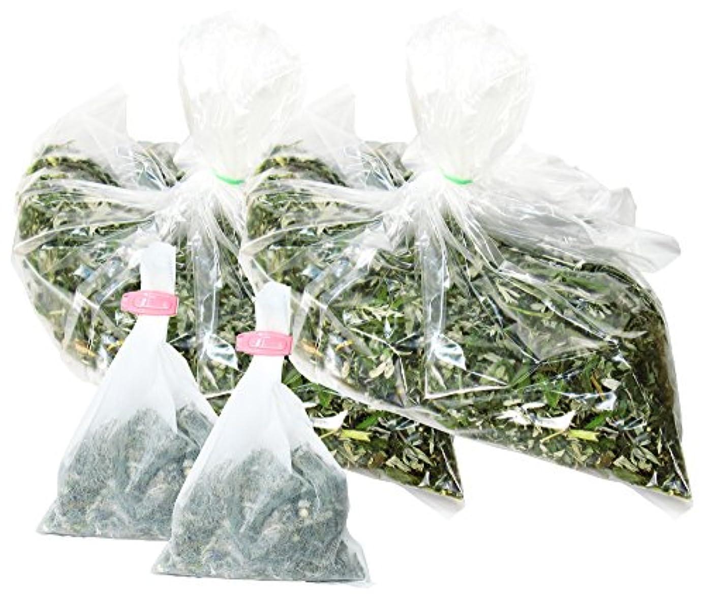 うるさいびんとは異なり自然健康社 よもぎ蒸しのよもぎ 250g×2個 乾燥刻み 煮出し袋20枚付