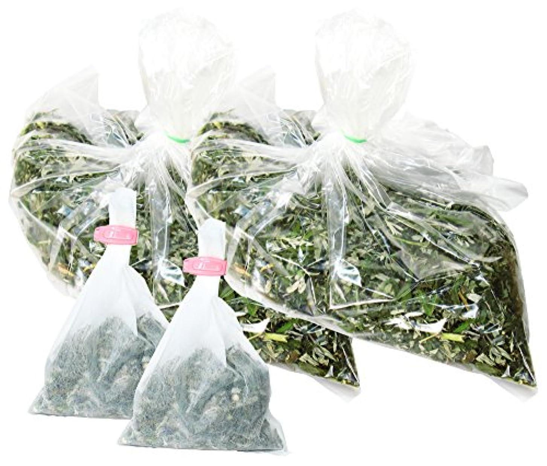 ポット砦大聖堂自然健康社 よもぎ蒸しのよもぎ 250g×2個 乾燥刻み 煮出し袋20枚付