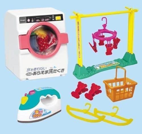 ぽぽちゃん お道具 お洗たくごっこ ドラム式洗たくき