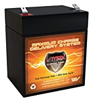 VMAX v06–4312V 6AH AGM SLA交換UPSバッテリBelkinタワーラックf6C1000-tw-rk UPSバッテリ
