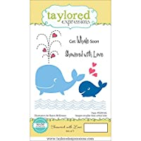 "Taylored Expressions Cling Stamp & Die Set 5.5""X3""-Showered W/Love (並行輸入品)"