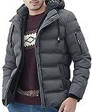 グラストア(Glestore)ダウンジャケット メンズ 撥水加工中綿ジャケット 迷彩 防寒 軽量ダウンパーカー 5color S/M/L/XL/XXL