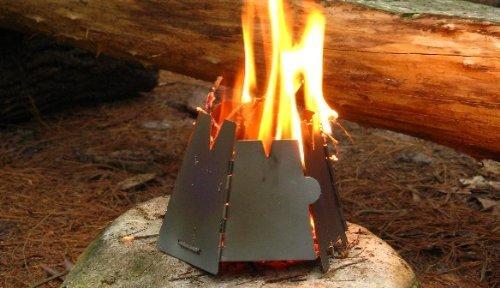 VARGO(バーゴ) チタニウム ヘキサゴン ウッドストーブ Titanium Hexagon Wood Stove(並行輸入品)