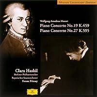 モーツァルト:ピアノ協奏曲第19番&第27番