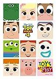 108ピース ジグソーパズル  TOY STORY4(トイ・ストーリー4) TOYS at PLaY (18.2x25.7cm)