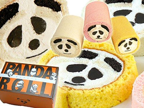 【米粉のロールケーキ】ぱんだロール かぼちゃ