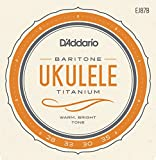 D'Addario ダダリオ ウクレレ弦 EJ87B Titanium Baritone バリトン 【国内正規品】