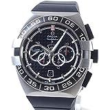 [オメガ]OMEGA 腕時計 コンステレーション ダブルイーグル クロノグラフ ブラック 付属:メーカー付属品なし *当店オリジナルBOX付 中古[1350393]