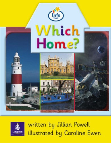 Info Trail Beginner:Which Home? Non-fiction (LITERACY LAND)の詳細を見る
