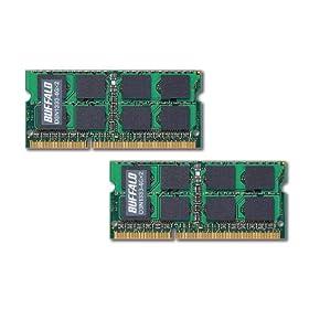 BUFFALO PC3-10600(DDR3-1333)対応 204Pin用 DDR3 SDRAM S.O.DIMM8GB(4GB×2枚組) D3N1333-4GX2