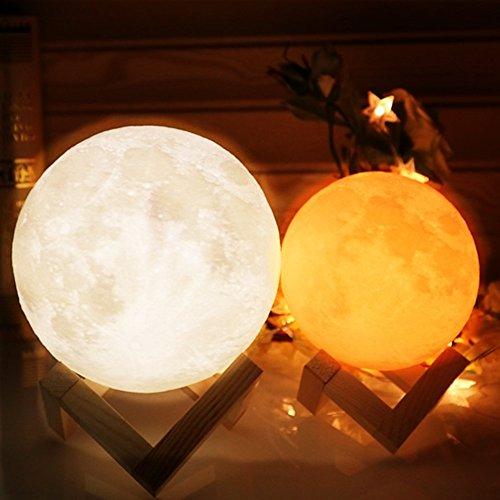 タイトル間接照明 LED 月のランプ Tengis フロアランプ