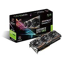ASUS GeForce GTX 1080 8GB ROG Strix OCエディション グラフィックカード STRIX-GTX1080-O8G-GAMING (認定リファービッシュ品) Boost Clock 1835 MHz STRIX-GTX1080-A8G-GAMING-cr