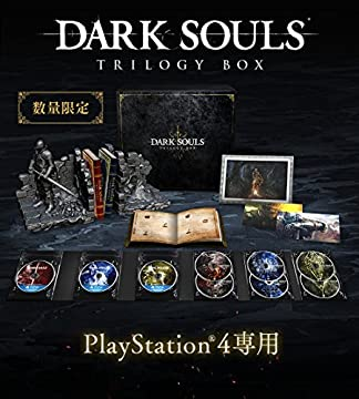 DARK SOULS TRILOGY BOX 【予約特典】「上級騎士バストアップフィギュア」 同梱 - PS4