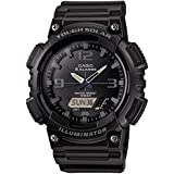 [カシオ] 腕時計 スタンダード ソーラー AQ-S810W-1A2JF ブラック