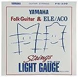 YAMAHA ギター弦 ライトゲージ フォークギター用セット弦 FS220