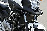 HEPCO&BECKER(ヘプコ&ベッカー) エンジンガード スチール ブラック NC700X(12-13)ABS車のみ 501973-0001