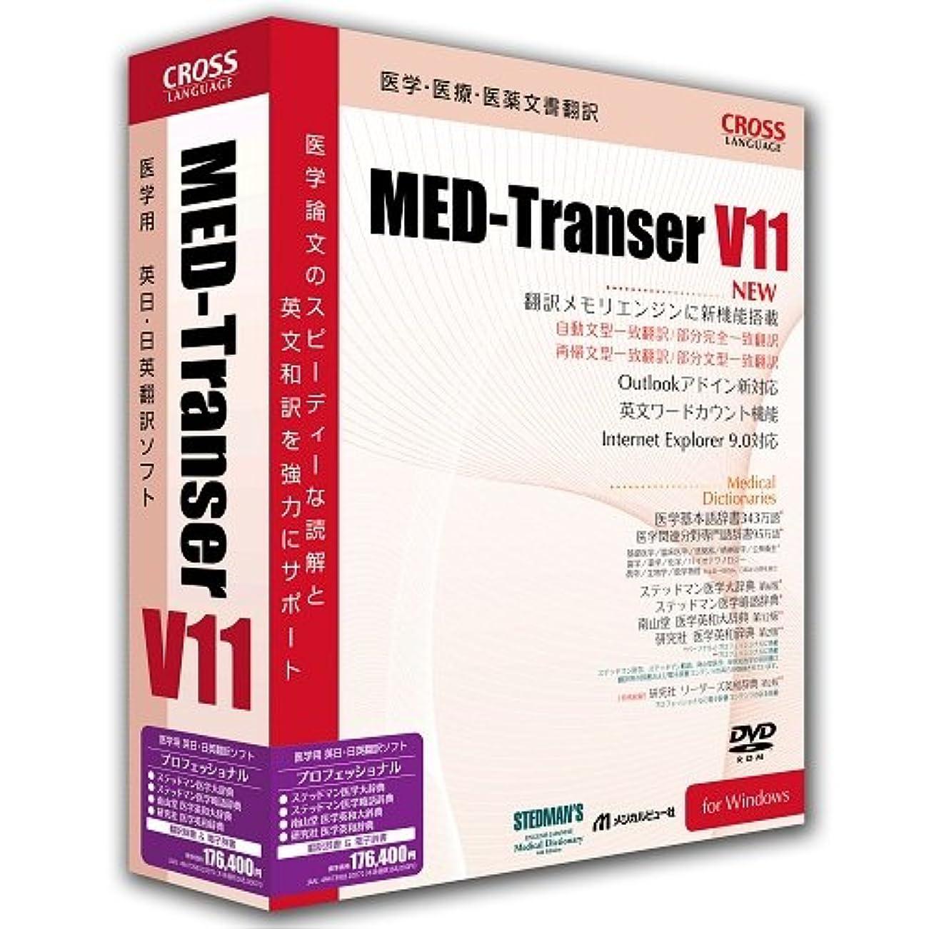 運河欠席香りMED-Transer V11 プロフェッショナル for Windows