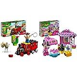 レゴ(LEGO) デュプロ トイ・ストーリー・トレイン 10894 ディズニー ブロック おもちゃ 女の子 男の子 電車 & レゴ(LEGO)デュプロ ミニーのお誕生日パーティー 10873【セット買い】