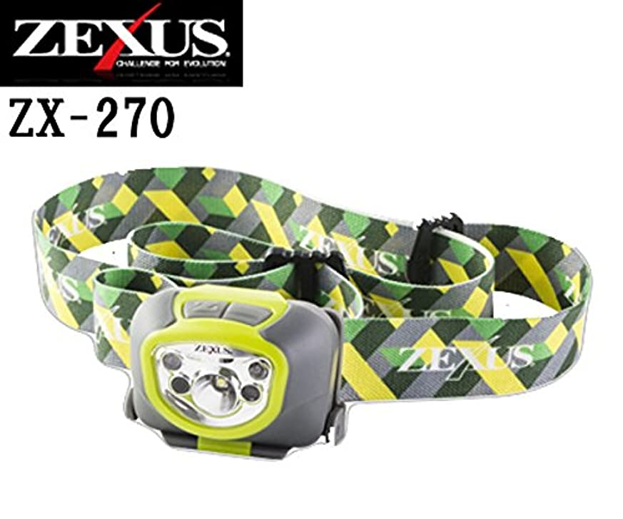 通路果てしないつかまえる冨士灯器 ヘッドライト ゼクサス ZX-270 ライムグリーン