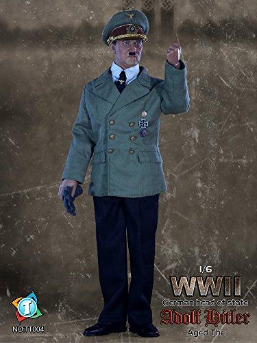 TIT TOYS 1/6スケール アクションフィギュア WWII アドルフ・ヒトラー 後期Ver.(TT004)