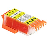 Epson エプソン ICY70L イエロー 単品4個セット 互換インクカートリッジ ICチップ付き
